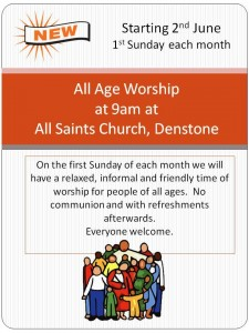 All Saints Poster for relaxed service