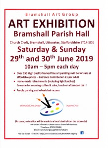 Bramshall Art Exhibition Poster 2019001