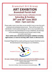 Bramshall Art Exhibition Press Release001